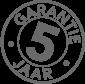 5 JAAR garantie reny kachels